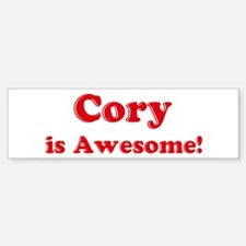 Cory is Awesome Bumper Bumper Bumper Sticker
