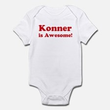 Konner is Awesome Infant Bodysuit