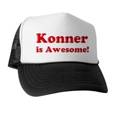 Konner is Awesome Trucker Hat