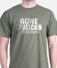 Gone Squatchin Washington *State Edition* T-Shirt