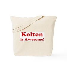 Kolton is Awesome Tote Bag