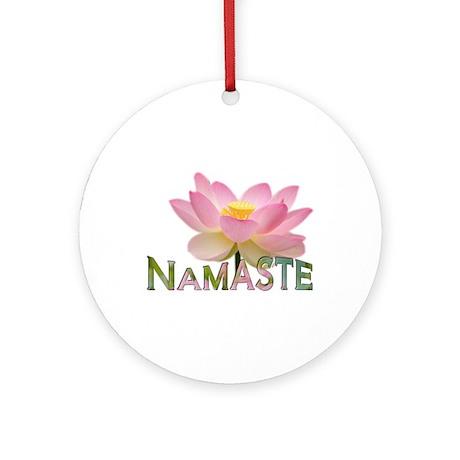Namaste - Ornament (Round)