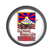 Stop Cultural Genocide - Wall Clock