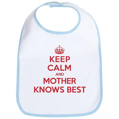 Mother Knows Best Bib