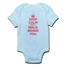 Ninja Behind You Infant Bodysuit