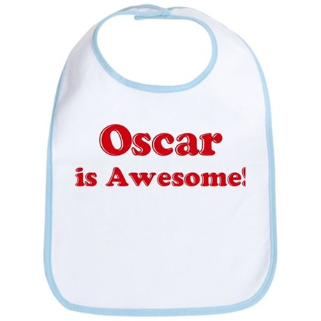 Oscar is Awesome Bib