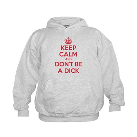 Dont Be a Dick Kids Hoodie