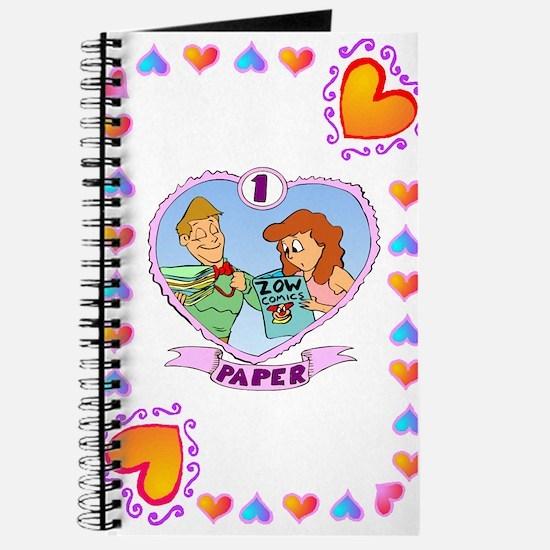 1st Wedding Anniversary, Paper Journal