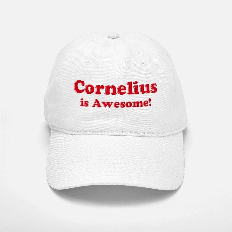 Cornelius is Awesome Baseball Baseball Cap