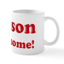 Grayson is Awesome Small Mug