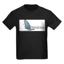 School Of Surf Windsurfing Logo T