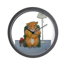 Dennis Woodhill Whiskers Wall Clock