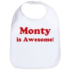 Monty is Awesome Bib