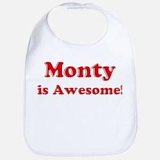 Monty is Awesome Bib