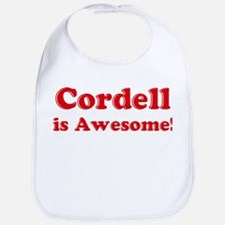 Cordell is Awesome Bib