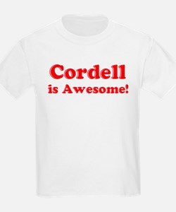 Cordell is Awesome Kids T-Shirt