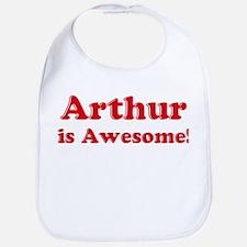 Arthur is Awesome Bib