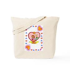 40th wedding anniversary, ruby Tote Bag