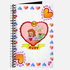 40th wedding anniversary, ruby Journal
