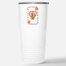 40th wedding anniversary, ruby Travel Mug