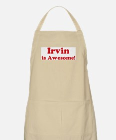 Irvin is Awesome BBQ Apron
