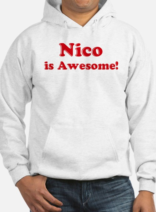Nico is Awesome Jumper Hoody