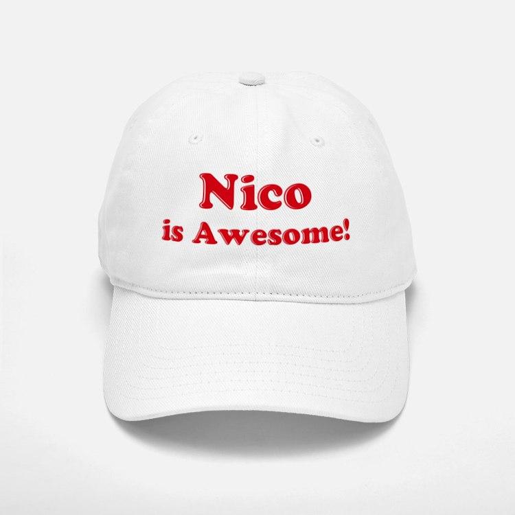 Nico is Awesome Baseball Baseball Cap