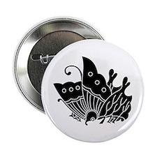 """Oda butterfly 2.25"""" Button"""