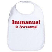 Immanuel is Awesome Bib