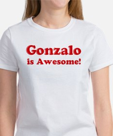 Gonzalo is Awesome Women's T-Shirt