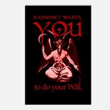 Baphomet Wants You Postcards (Package of 8)