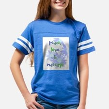 Peace, Love and Massage Youth Football Shirt