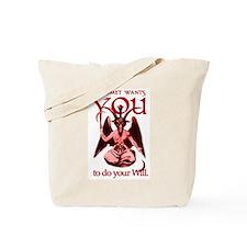 Baphomet Wants You Tote Bag