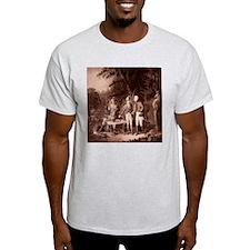 The Swamp Fox Digitally Remas Ash Grey T-Shirt
