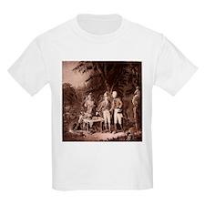 The Swamp Fox Digitally Remas Kids T-Shirt