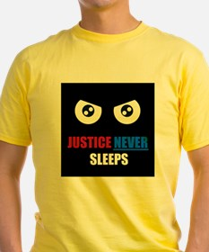 Justice Never Sleeps T