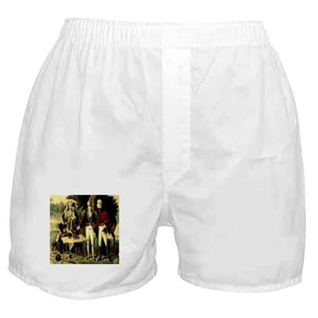 Swamp Fox Engraving Currie & Boxer Shorts