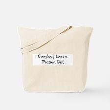 Pratum Girl Tote Bag