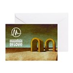 Album Cover banner Greeting Cards