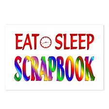 Eat Sleep Scrapbook Postcards (Package of 8)