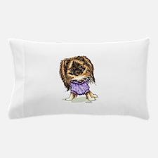 Plum Cute Pomeranian Pillow Case