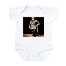 antique, lithograph, art, chr Infant Bodysuit