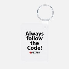 Always follow the code! Keychains