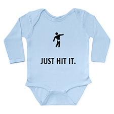 Bodybuilding Long Sleeve Infant Bodysuit