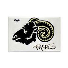 ...Aries... Rectangle Magnet