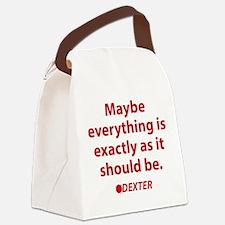 Dexter Quote Canvas Lunch Bag