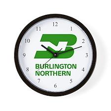 Funny Burlington northern Wall Clock