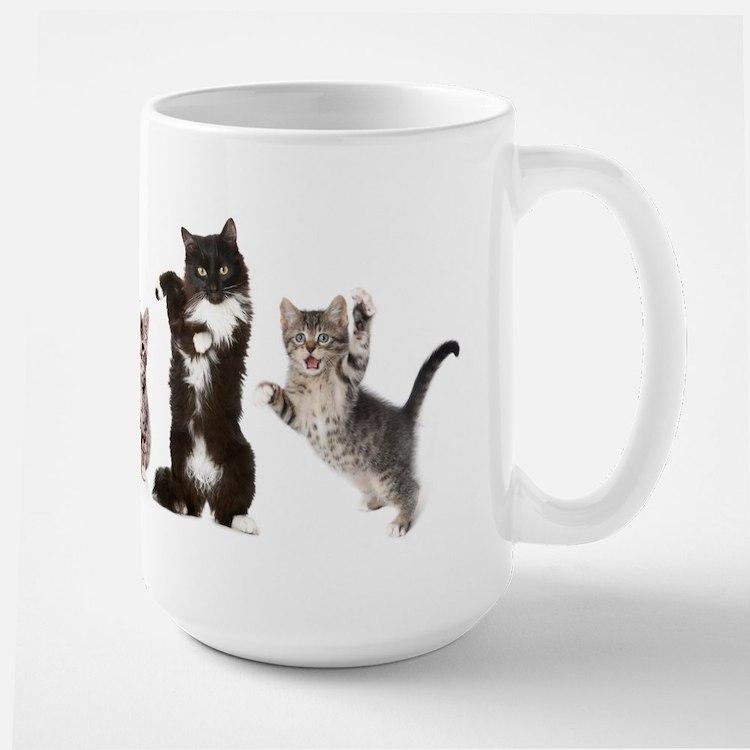 tuxie cats mug