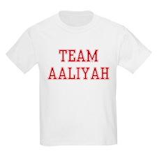 TEAM AALIYAH  Kids T-Shirt