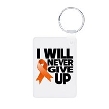I Will Never Give Up COPD Aluminum Photo Keychain